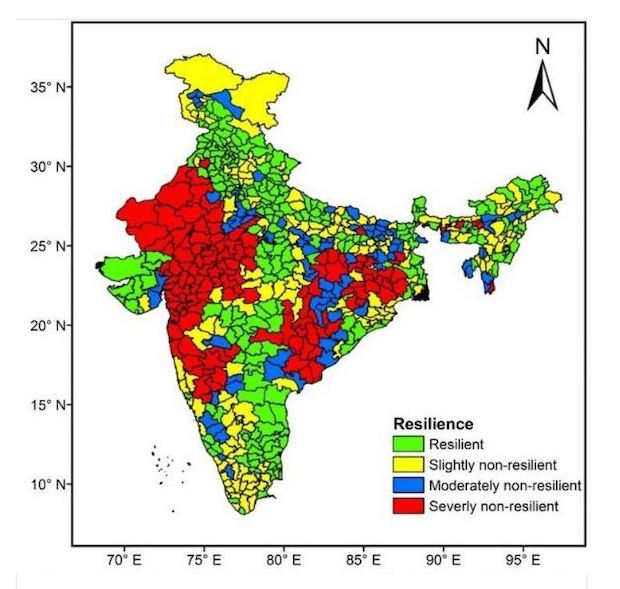 42% of India's land area under drought, 500 mn people