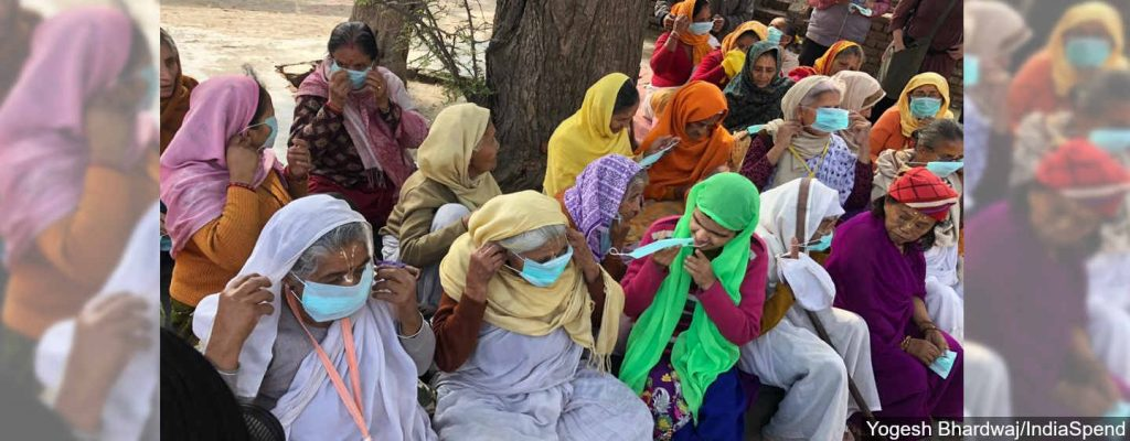 In Vrindavan, A Home for Widows Prepares To Protect Its Elderly From COVID-19 - IndiaSpend