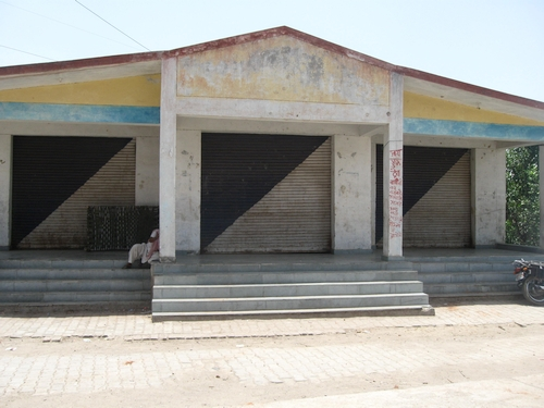 500-Abandoned shops built to house ration stores-2