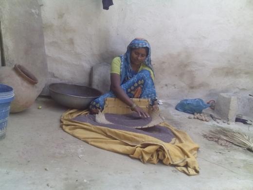 520-Woman Farmer Shyampati in Chitrakoot