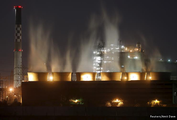coal-fired power plant in Ahmedabad