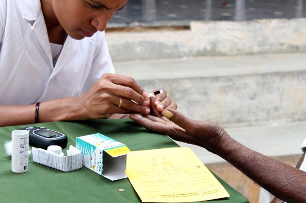 Diabetes Screening camp