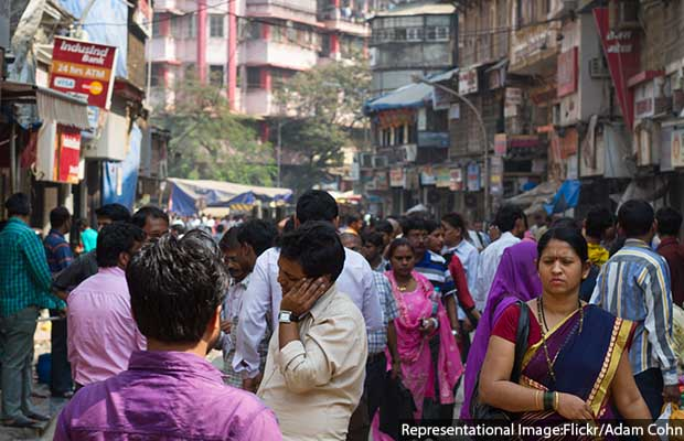 Bustling Streets of Mumbai
