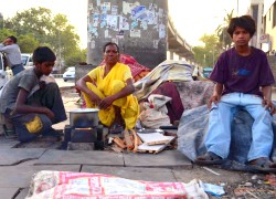 Delhi Families Without Homes