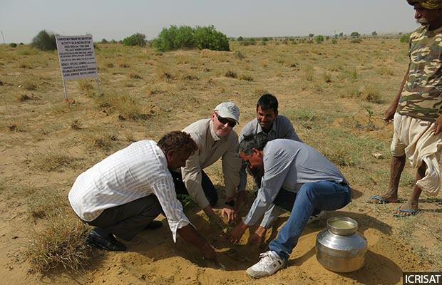 To withstand climate change, farmers need adequate support by way of know-how and practical assistance for adoption of drought- or heat-tolerant crop varieties (cultivars), soil and water conservation technologies, said Anthony Whitbread, a research programme director at the International Crops Research Institute for the Semi-Arid Tropics (ICRISAT).