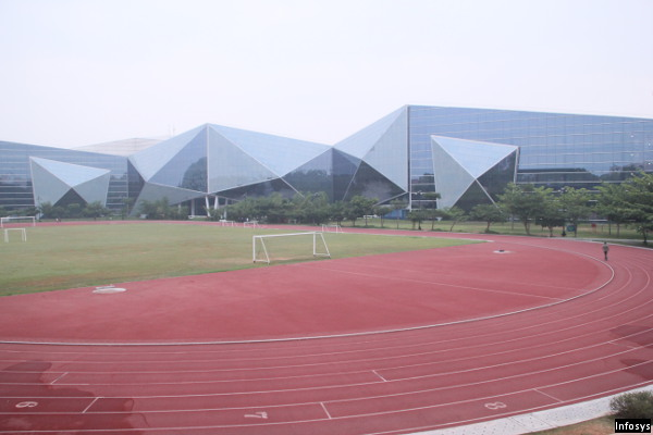 Infosys Glass Building