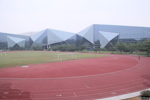 Infosys Glass Building
