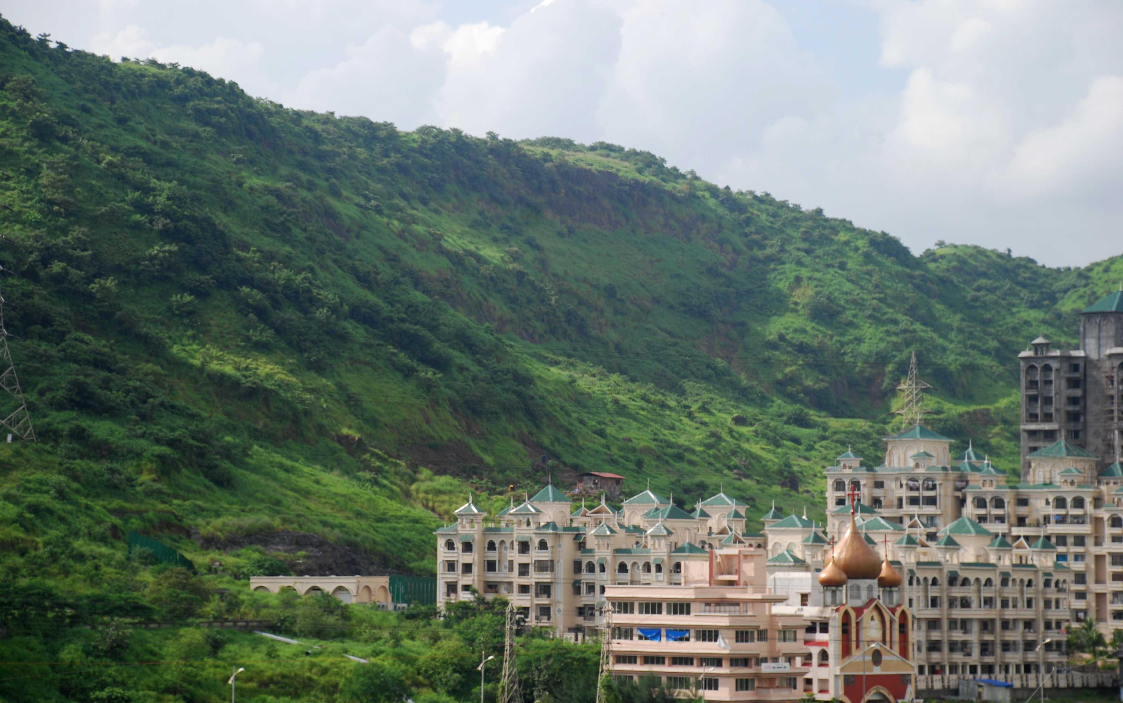 Kharghar_hills