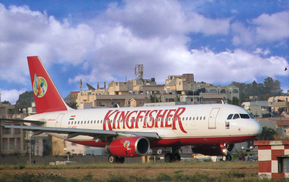 Kingfisher Airlines, Bangalore