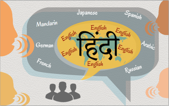 discuss the growth of english in india
