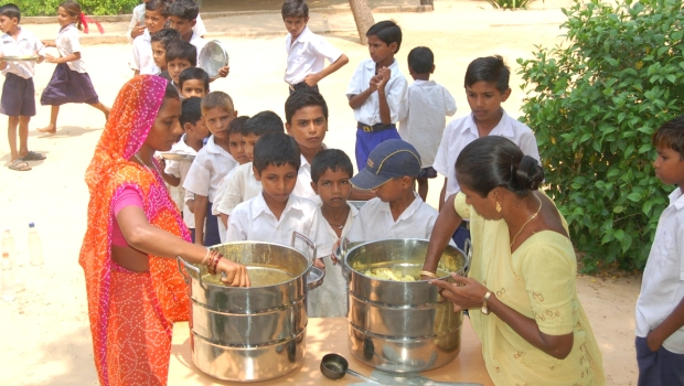 Midday meal cover story