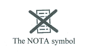 The NOTA symbol