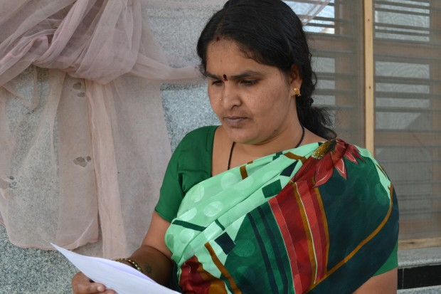 Picture of Bharati, GP member from O Mittur GP