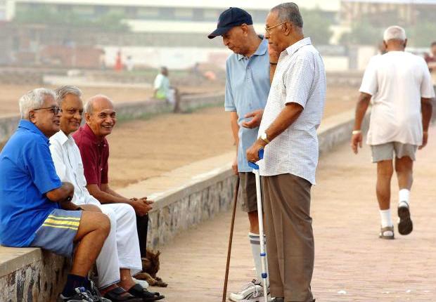 Seniorcitizens in india
