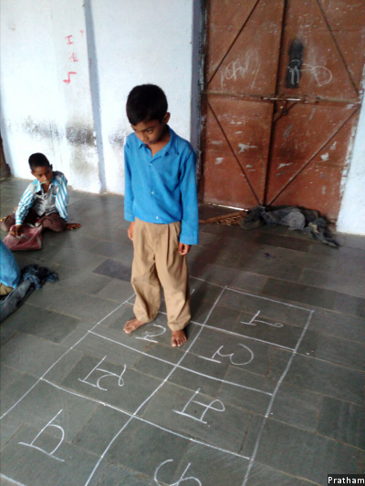 Over 30-days of intensive learning by Pratham, Ankit Bairwa, 9, from Merma Talab village, in district Baran, southeast Rajasthan, learned how to identify numbers from 10 to 999, read a short story fluently, and perform simple additions and subtractions. In catching up with the level of learning expected of him, Bairwa also developed an interest in studies.