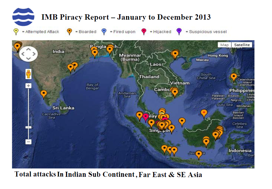 attackes in indian subcontinent