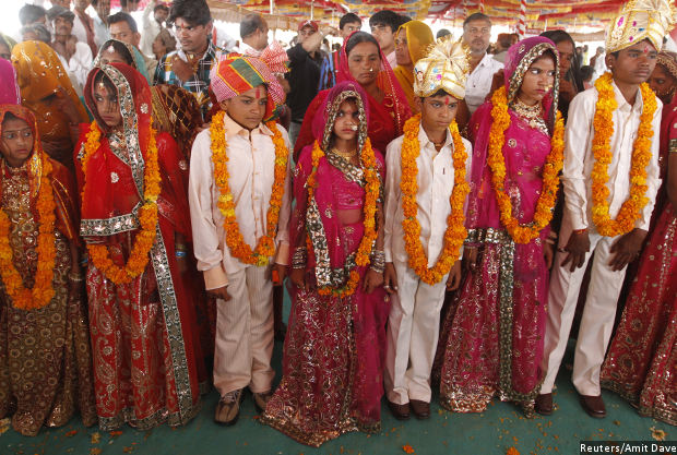 Benefits Of Ending Child Marriage, Early Birth = India's Annual Higher  Education Budget | IndiaSpend
