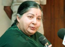 Tamil Nadu Chief Minister Jayalalithaa speaks on Police Modernisation Scheme and funds