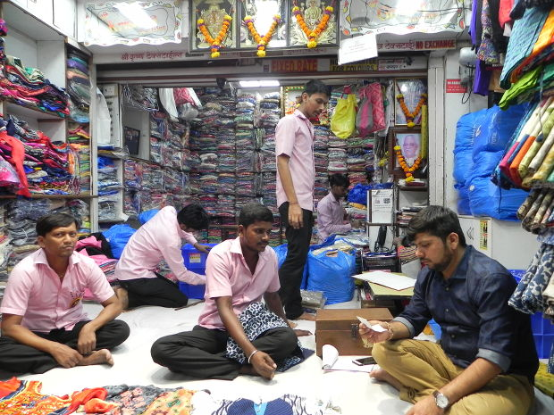 Kripesh Bhayani, a wholesale cloth seller, diversified to garment manufacturing on a small scale, but is still facing losses.