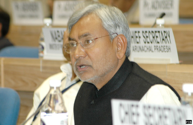 Bihar Chief Minister Shri Nitish Kumar, addressing at the National Development Council 52nd Meeting, at Vigyan Bhawan, New Delhi on December 9, 2006.