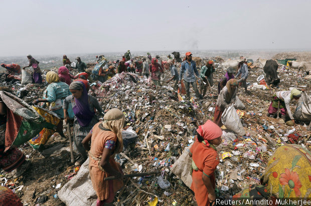 essay on waste management in india