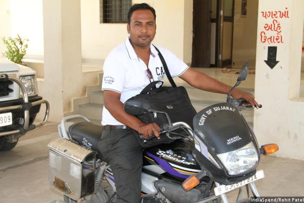 sagar-on-bike